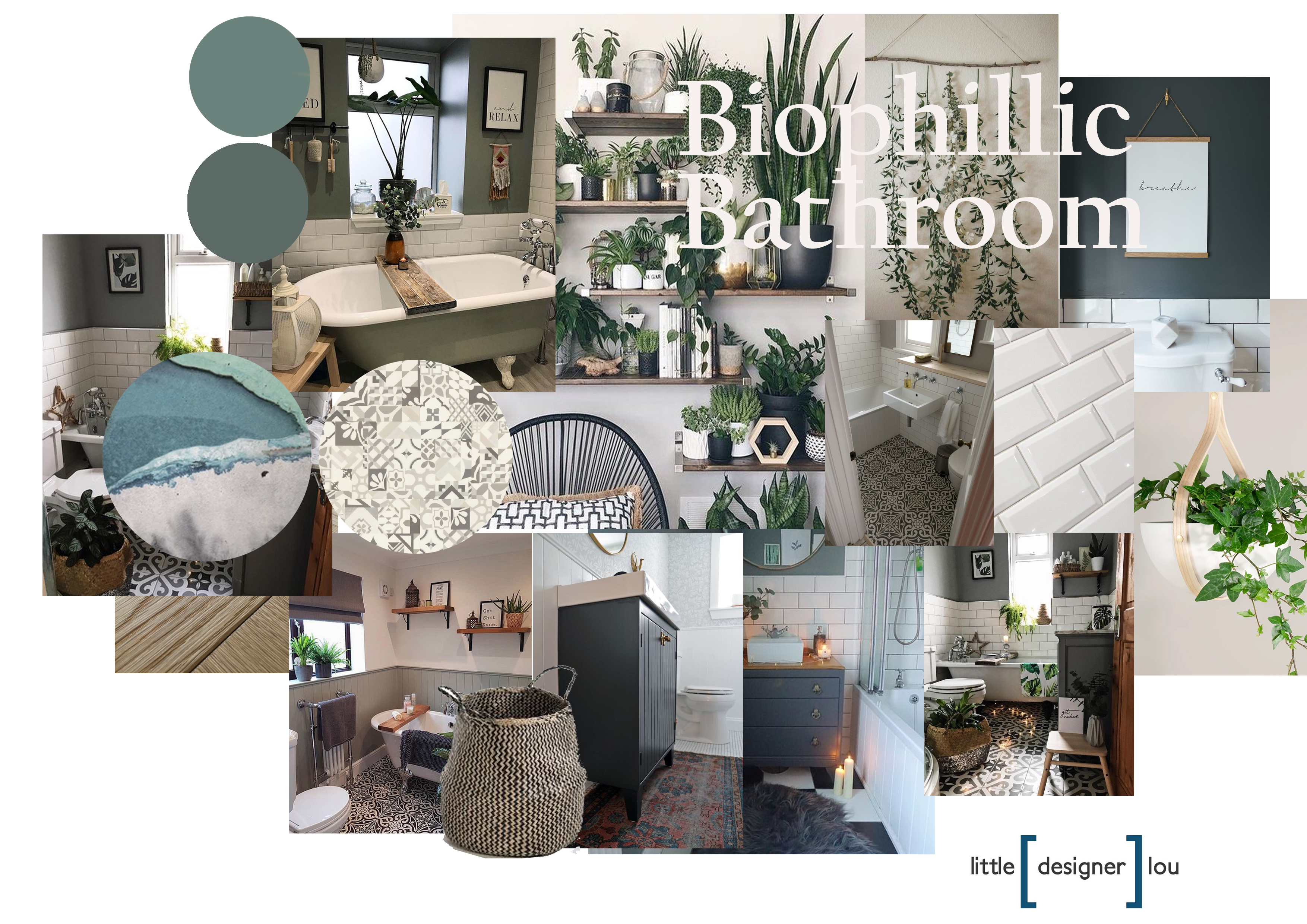 biophillic TRENDS 2020 bathroom