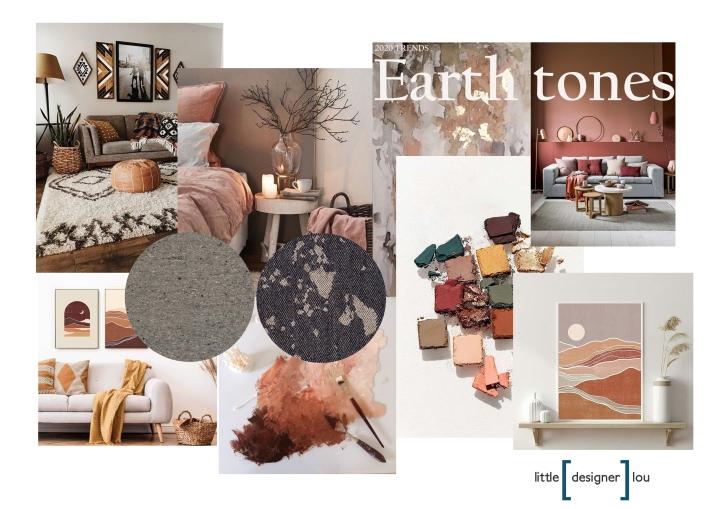 EARTH TONES TRENDS 2020