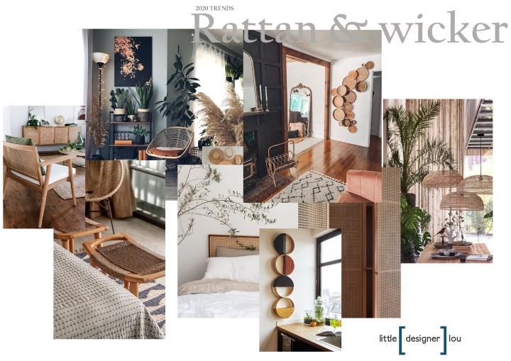 RATTAN & WICKER TRENDS 2020